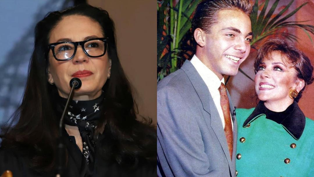 Yolanda Andrade revela agresion Cristian a Veronica Castro