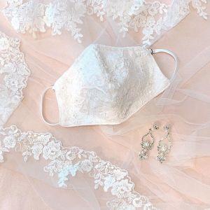 Cubrebocas novia
