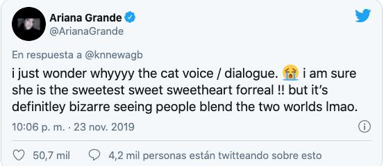 Ariana Grande doble