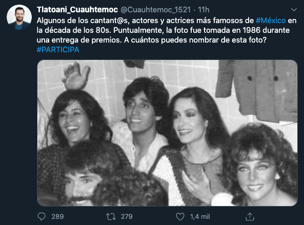 Foto famosos 80s