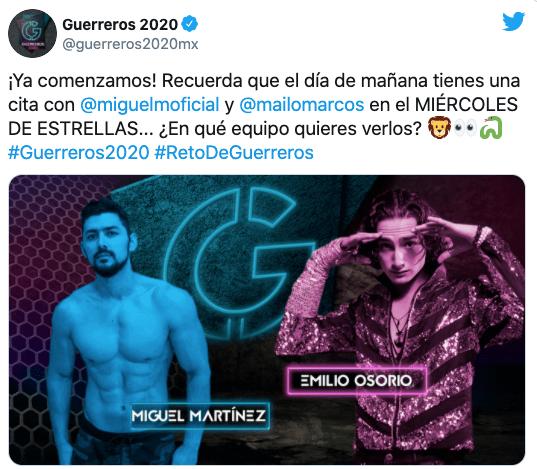 Nuevos invitados se unirán esta noche Guerreros 2020