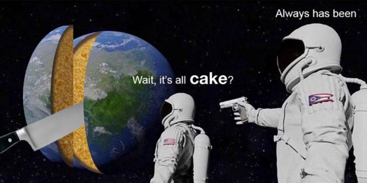 Conoce los 17 mejores Memes de los pasteles que no lo parecen