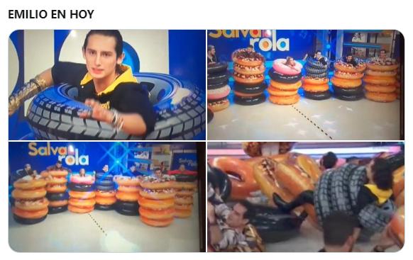 Emilio Osorio, hijo de Niurka, hace el ridículo en Hoy