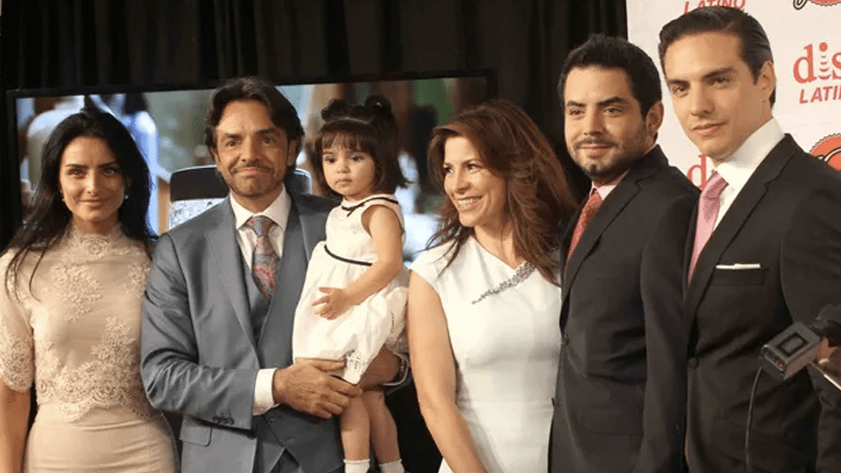 El apellido real de Eugenio Derbez y sus hijos no es Derbez
