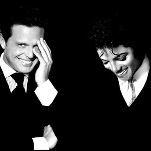 Luis Miguel y Michael Jackson cantaron juntos smile