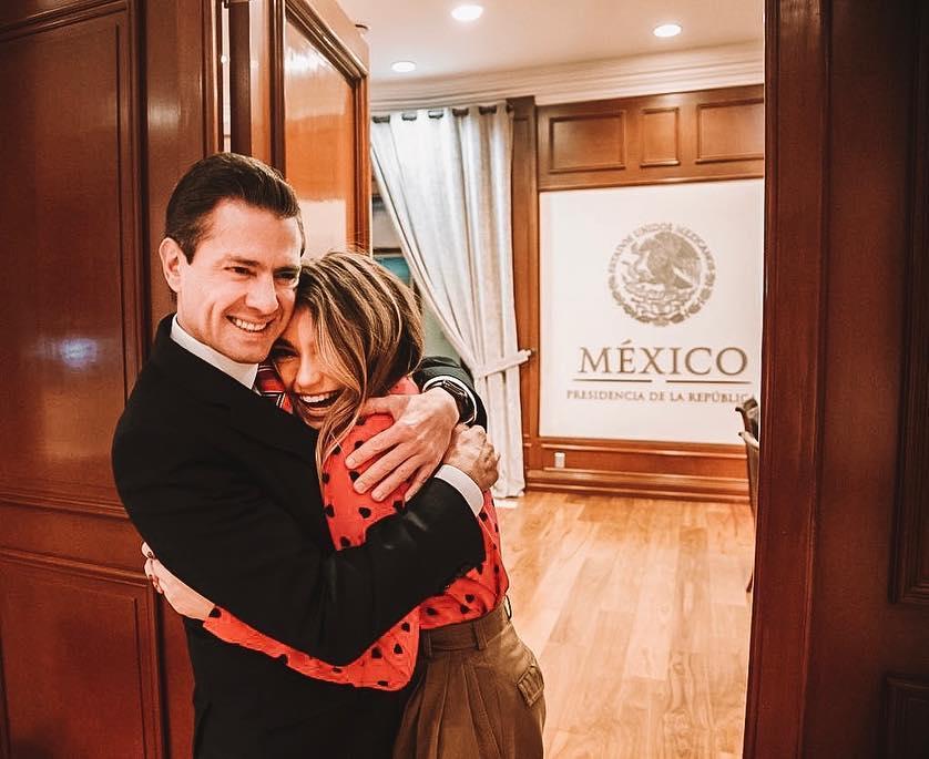 Sofía Castro revela que aún habla con Enrique Peña Nieto