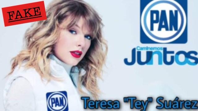 Aseguran Taylor Swift será candidata al PAN: Memes