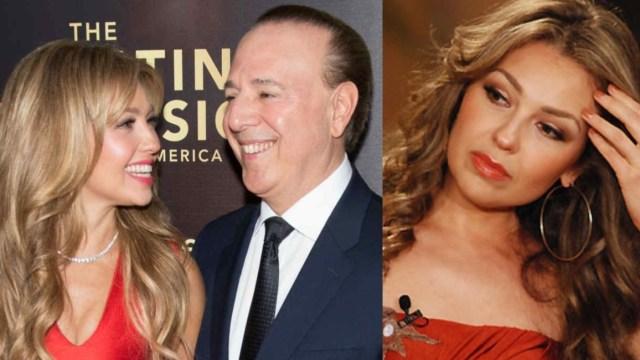 Thalía y Tommy Mottola pudieron estar enfermos de covid