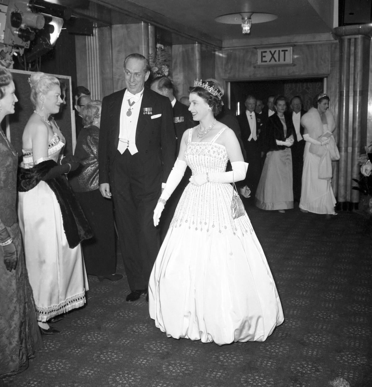 El vestido de la princesa beatriz en su boda que era de la reina Isabel II
