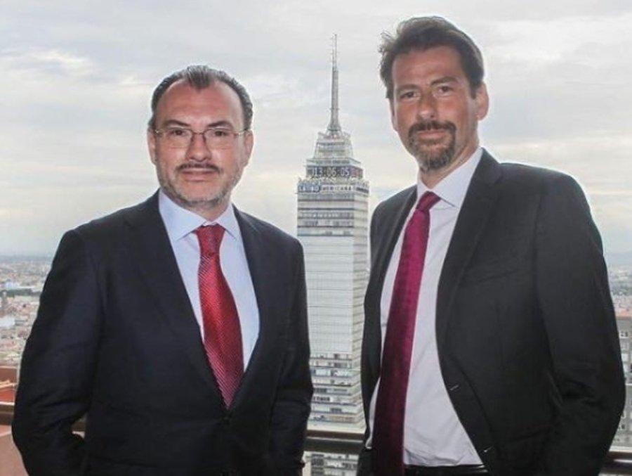 """Roberto Palazuelos y Eduardo Videgaray se agarran del chongo tras """"bromitas"""" pesadas"""