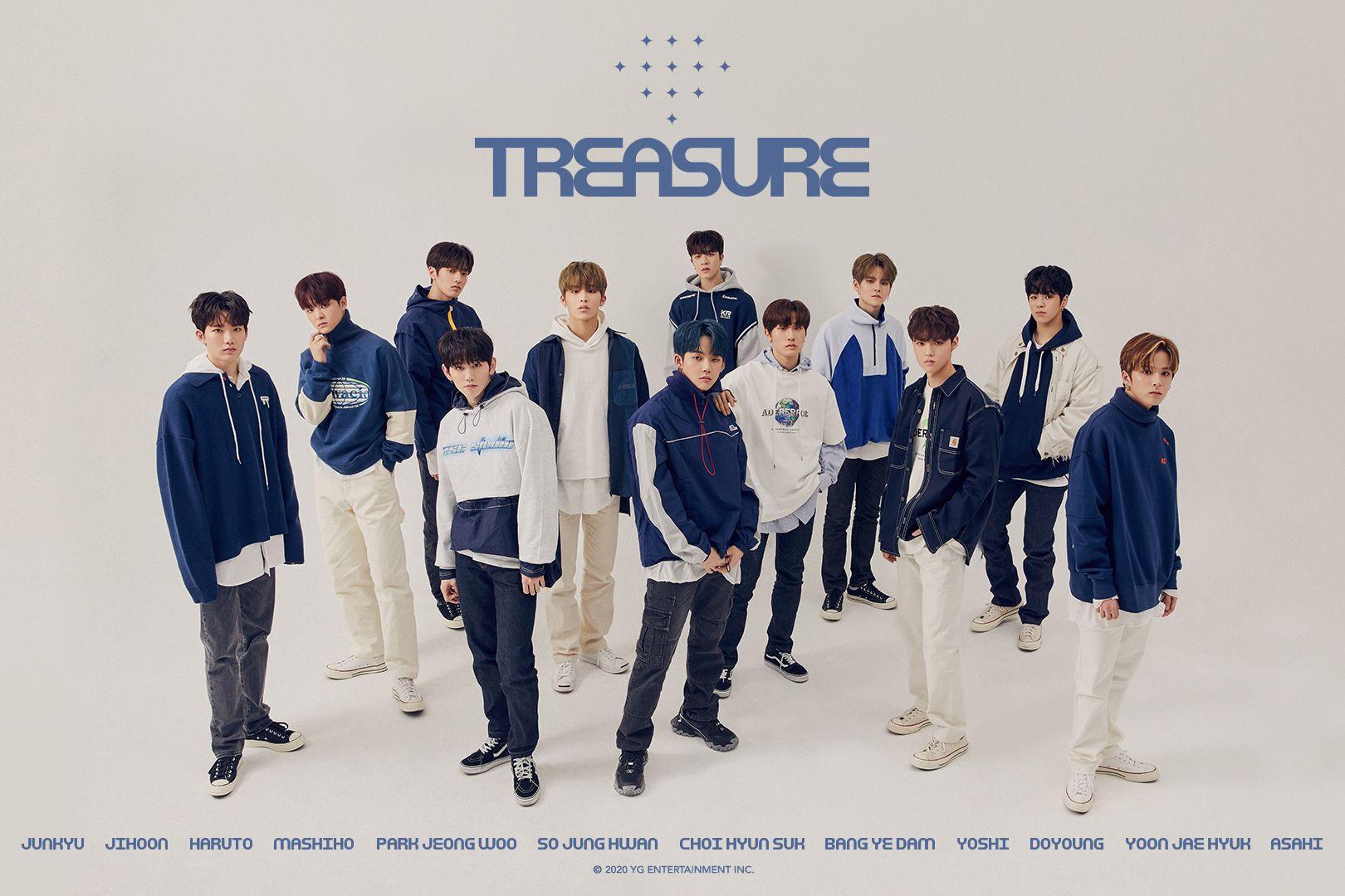 YG Entertainment presenta a Treasure, su nueva banda que planean sea un hitazo