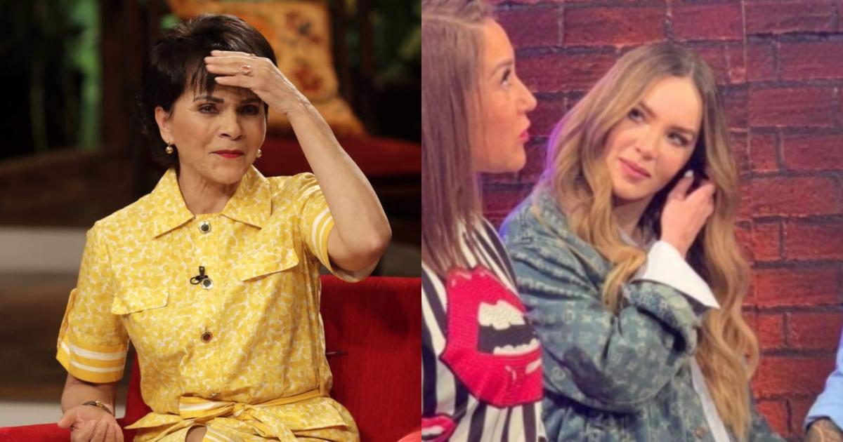 Belinda reviven pleito con Paty Chapoy negó dar entrevista
