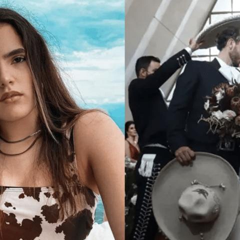 Confirman que Camila hija de Alejandro Fernández, se casó embarazada