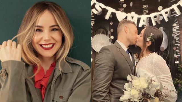 Camila Sodi se casó compartió fotos de hermosa boda