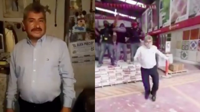 Lobo Vázquez vuelve con nuevo baile para vender pisos: Video