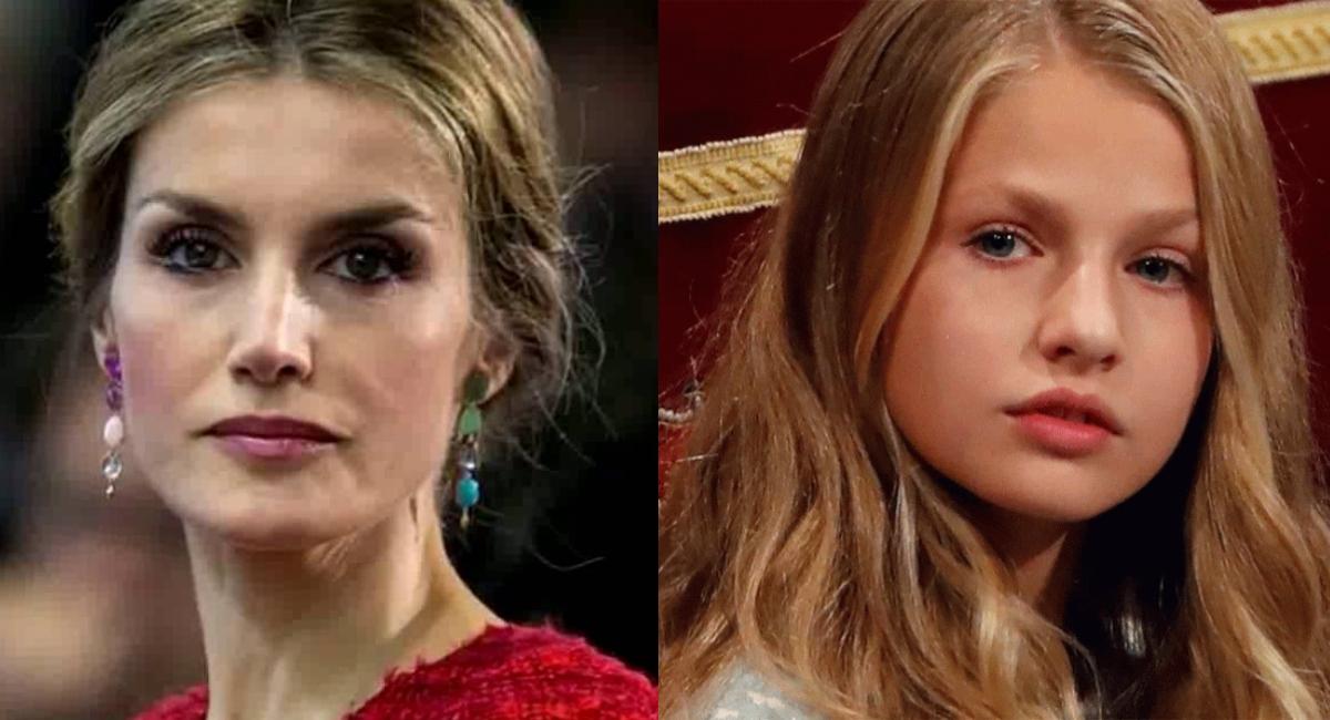 Reina Letizia advierte a Leonor su hija lo que hará de mayor