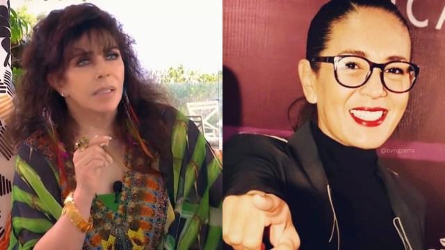 Revelan foto de Yolanda Andrade y Verónica Castro en París