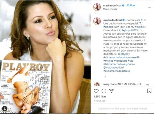 Alicia Machado Foto Instagram