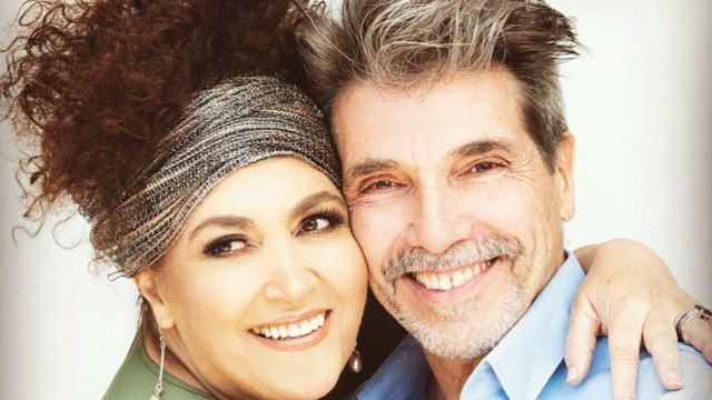 Amanda Miguel posa con Diego Verdaguer antes de anunciar su separación