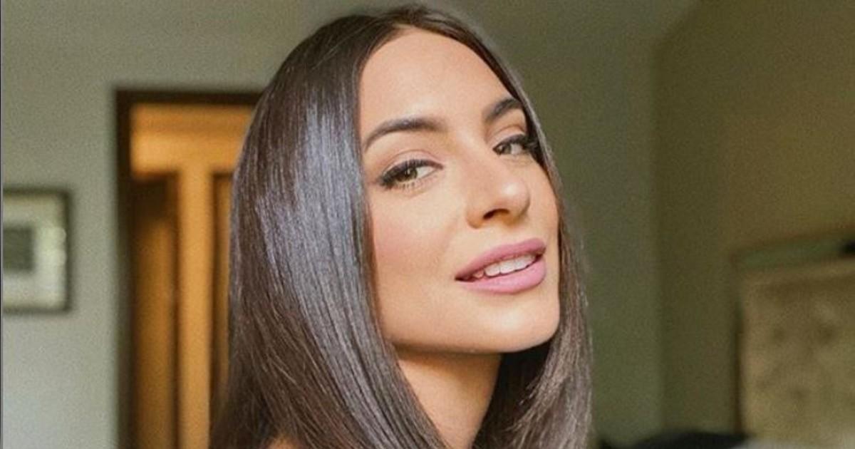 Ana Brenda innovó con su cabello