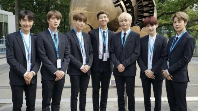 BTS da emotivo discurso en asamblea de la ONU