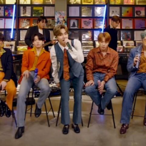 BTS Tiny Desk Concierto