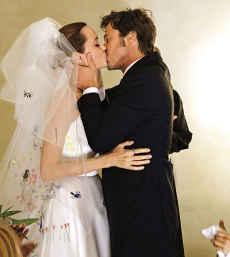 Boda Brad Pitt Angelina Jolie