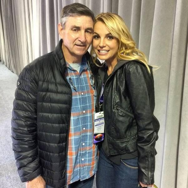 Britney y James Spears