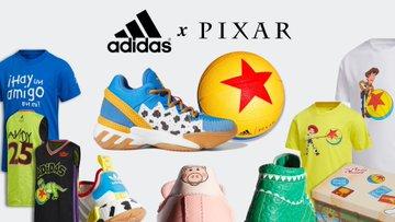 Colección deportiva de Toy Story y Adidas
