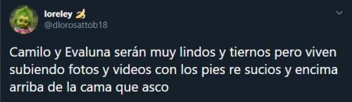 Evaluna revela que Camilo no es muy limpio y las redes los critican