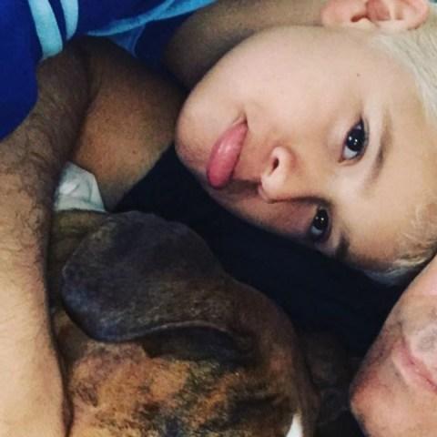 Fernando Carrillo y su hijo que no ve