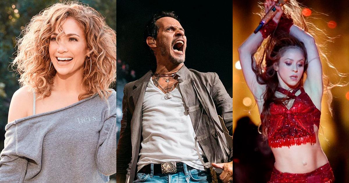 Revelan la dieta de Jennifer Lopez, Marc Anthony y Shakira