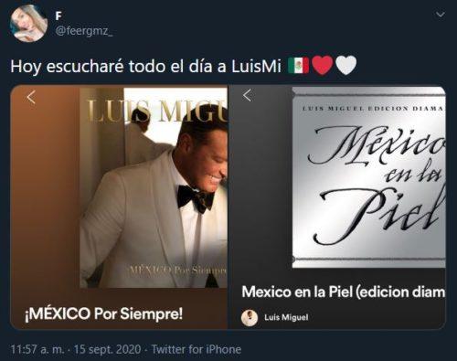 Playlist de Luis Miguel para amenizar tu fiesta mexicana