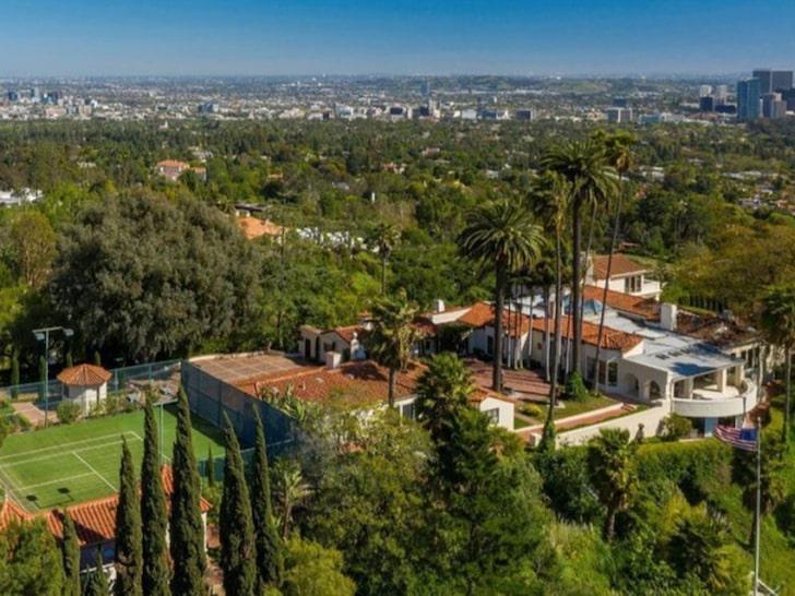 LeBron James mansión en Hollywood Hills