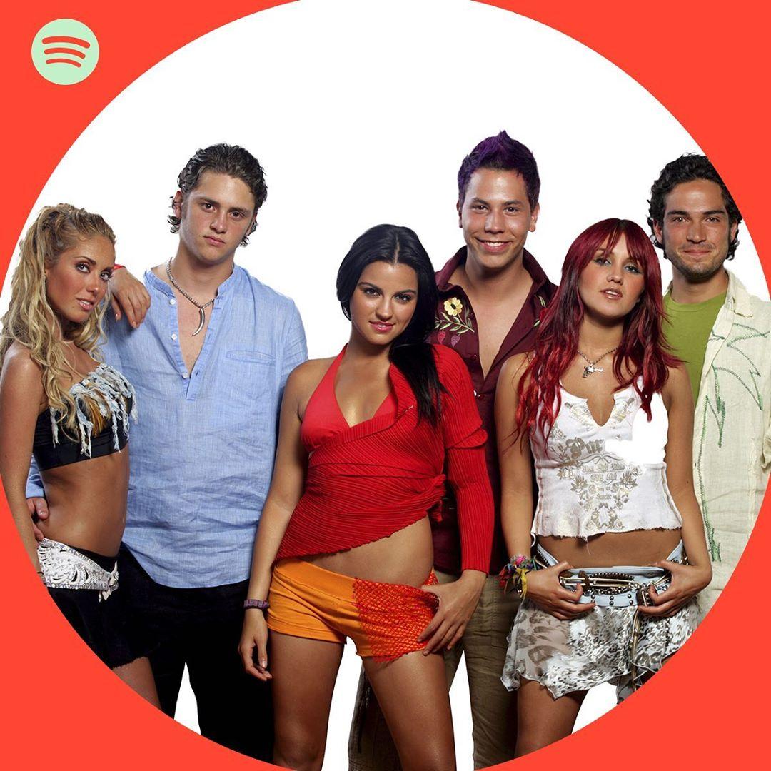 RBD Spotify Plataformas