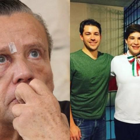 Alfredo Adame se arrepiente y quiere hacer las paces con sus hijos