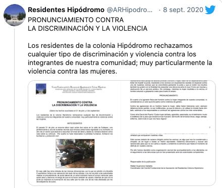 Argentinos insultan a trabajadora mexicana por podar árboles en Condesa