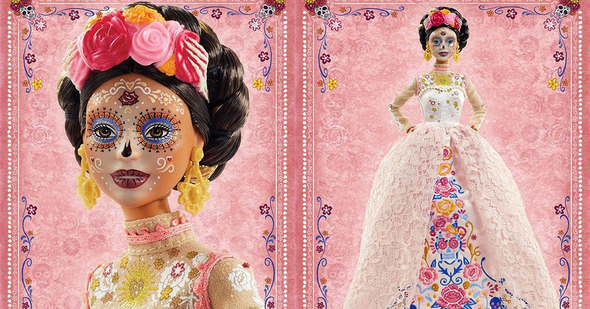 Barbie lanza su nueva muñeca del día de muertos 2020