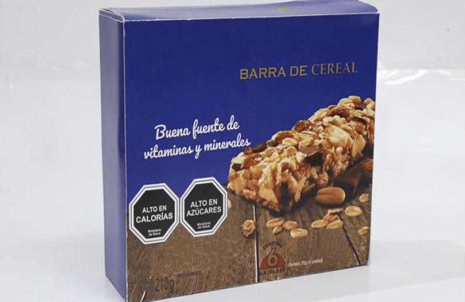 Personas descubren que las Barras de cereal no son tan sanas gracias al nuevo etiquetado