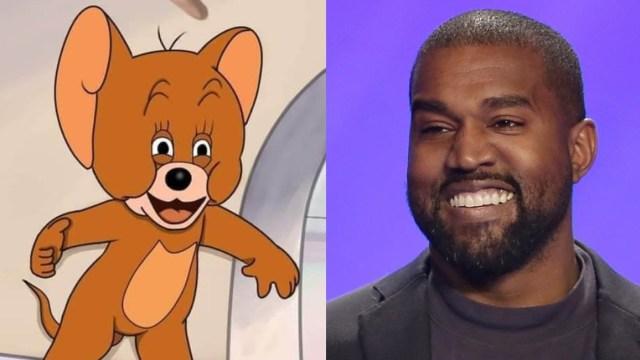 Kanye West es visto caminando sobre el agua con sus hijos