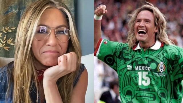 "Futbolista ""Matador"" Hernández enamora a Jennifer Aniston en TikTok"