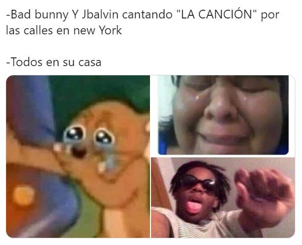 Los mejores memes del concierto virtual de Bad Bunny