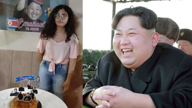 Organiza fiesta de KPop, pero le dan un pastel de Kim Jong-un