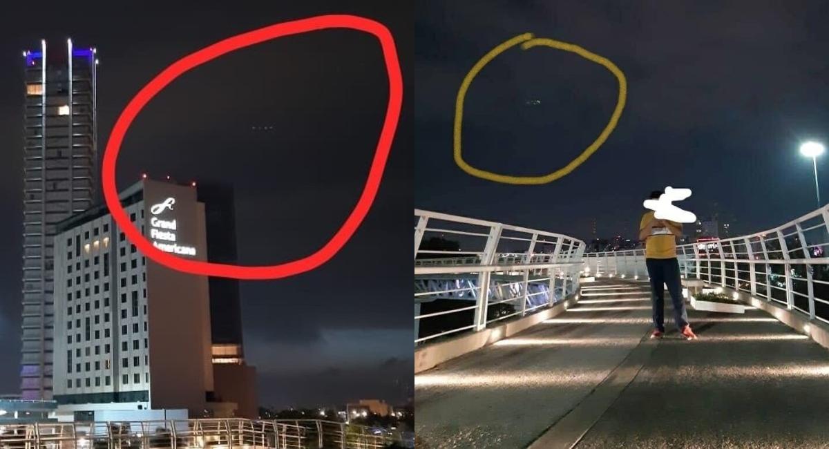 Video: Captan supuestos OVNI en Angelópolis, Puebla