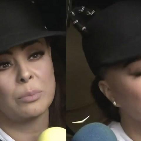 Yadhira Carrillo rompe en llanto al hablar de Juan Collado