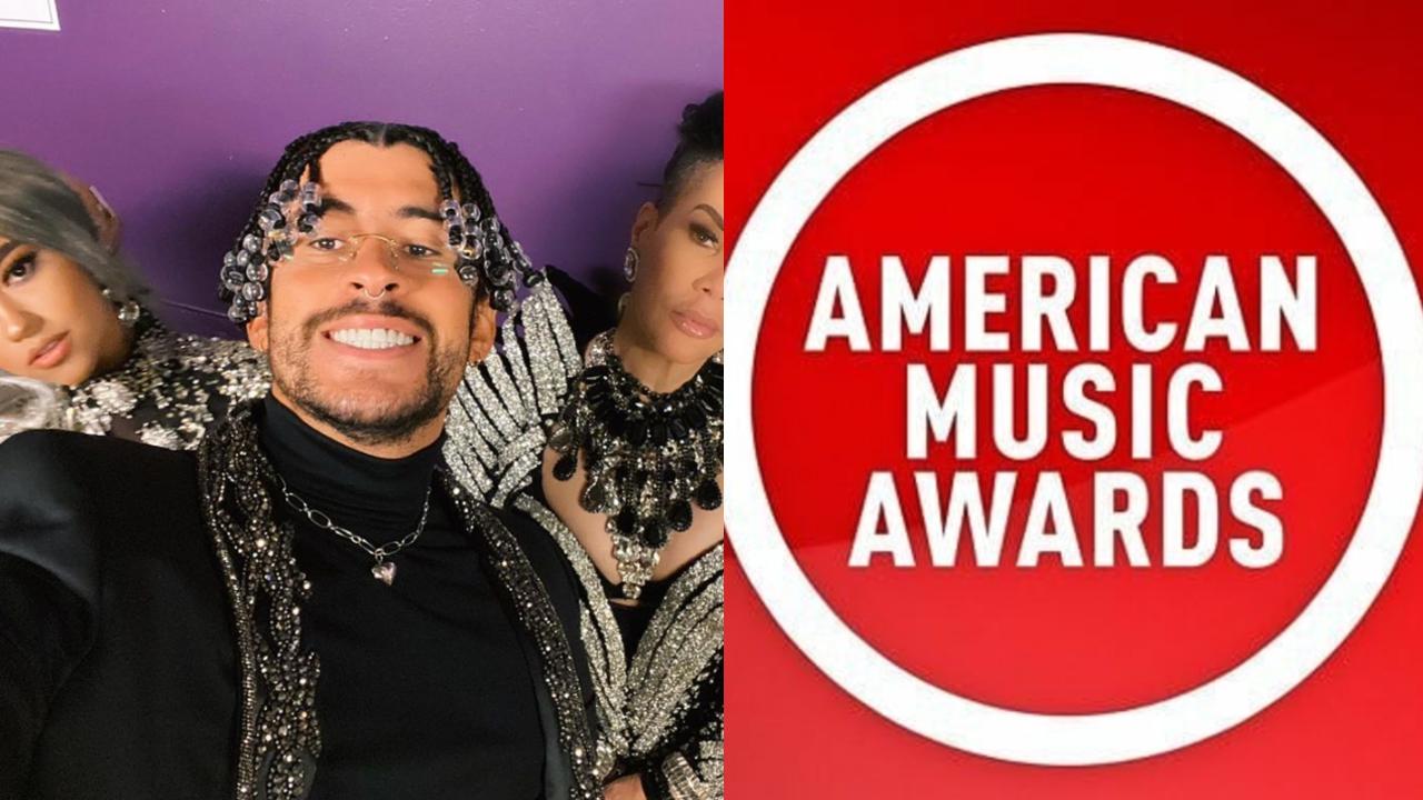 Bad Bunny en los American Music Awards
