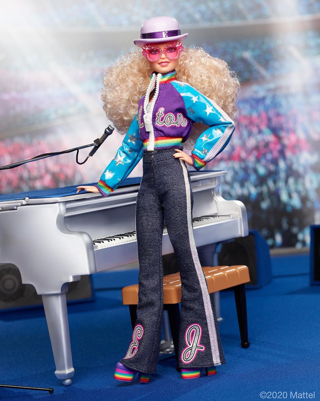 Barbie lanza muñeca de Elton John