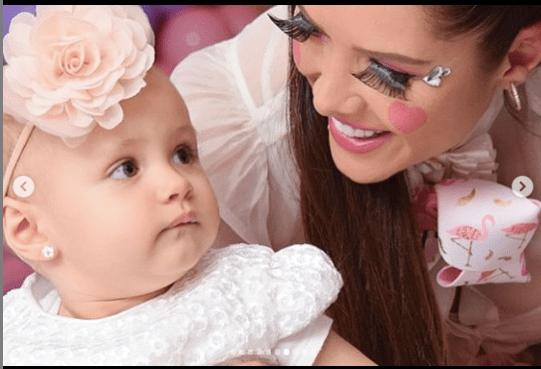 Marlene Favela celebra el cumpleaños de su hija a lo grande.