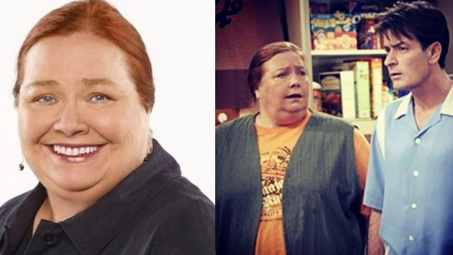 Conchata ferrell como berta en two and a half men