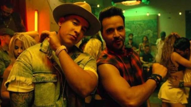 Luis Fonsi y Daddy yankee en Despacito